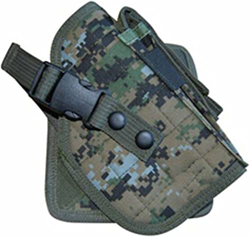 Ultimate Arms Gear Woodland Digital Camo Camouflage MOLLE Cross Draw Holster, Right Handed, Fits Glock Pistols