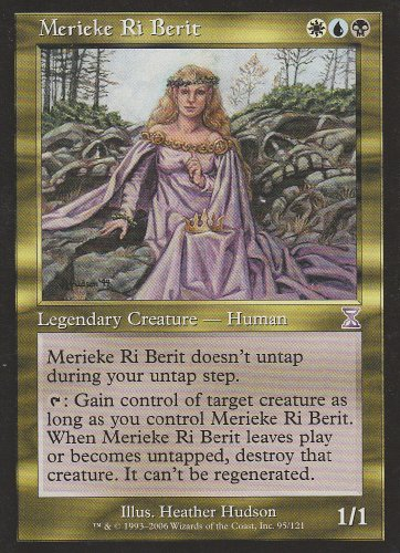 Merieke Ri Berit (Magic the Gathering : Time Spiral Timeshifted #95 Rare) (Time Spiral Timeshifted Magic)