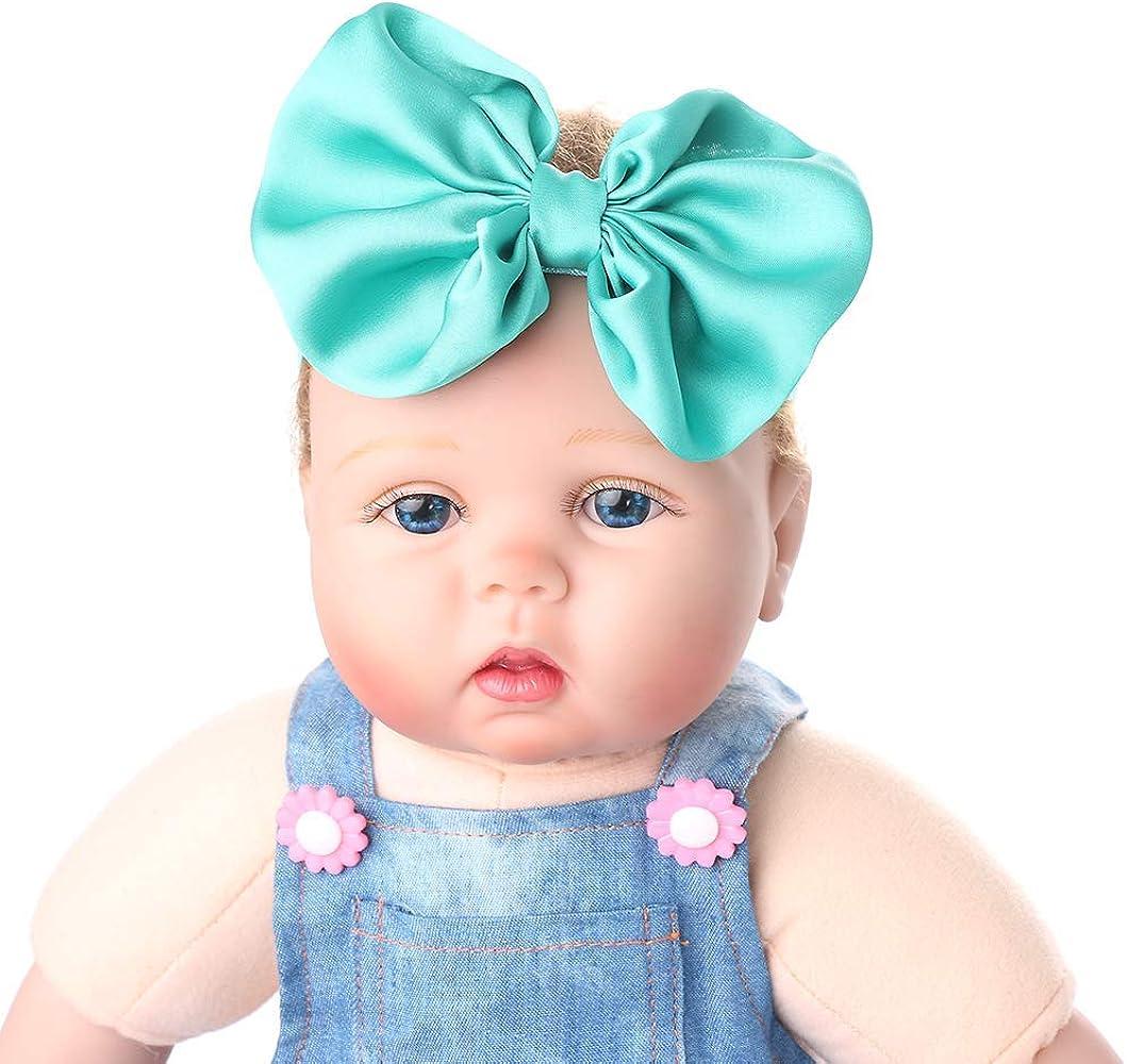 OSAYES Envoltura de la cabeza floral banda de pelo baby girls Sequin ...