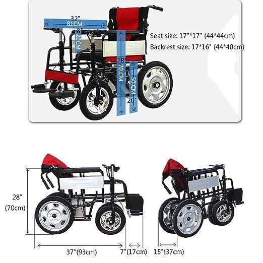 CHQYY Discapacitados Andador eléctrico Ancianos Transporte ...