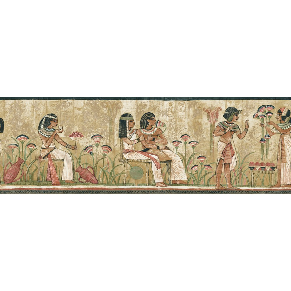 Decorate By Color BC1581704 Earth Tone Egyptian Border