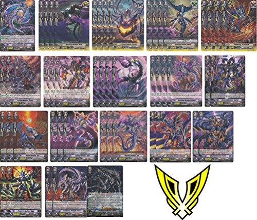 cardfight vanguard 50 card deletor legion starter link