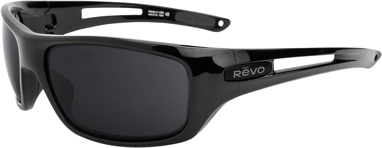 Revant Verres de Rechange pour Revo Guide RE4054 - Compatibles avec les Lunettes de Soleil Revo Guide RE4054 Dégradé Marron - Non Polarisés