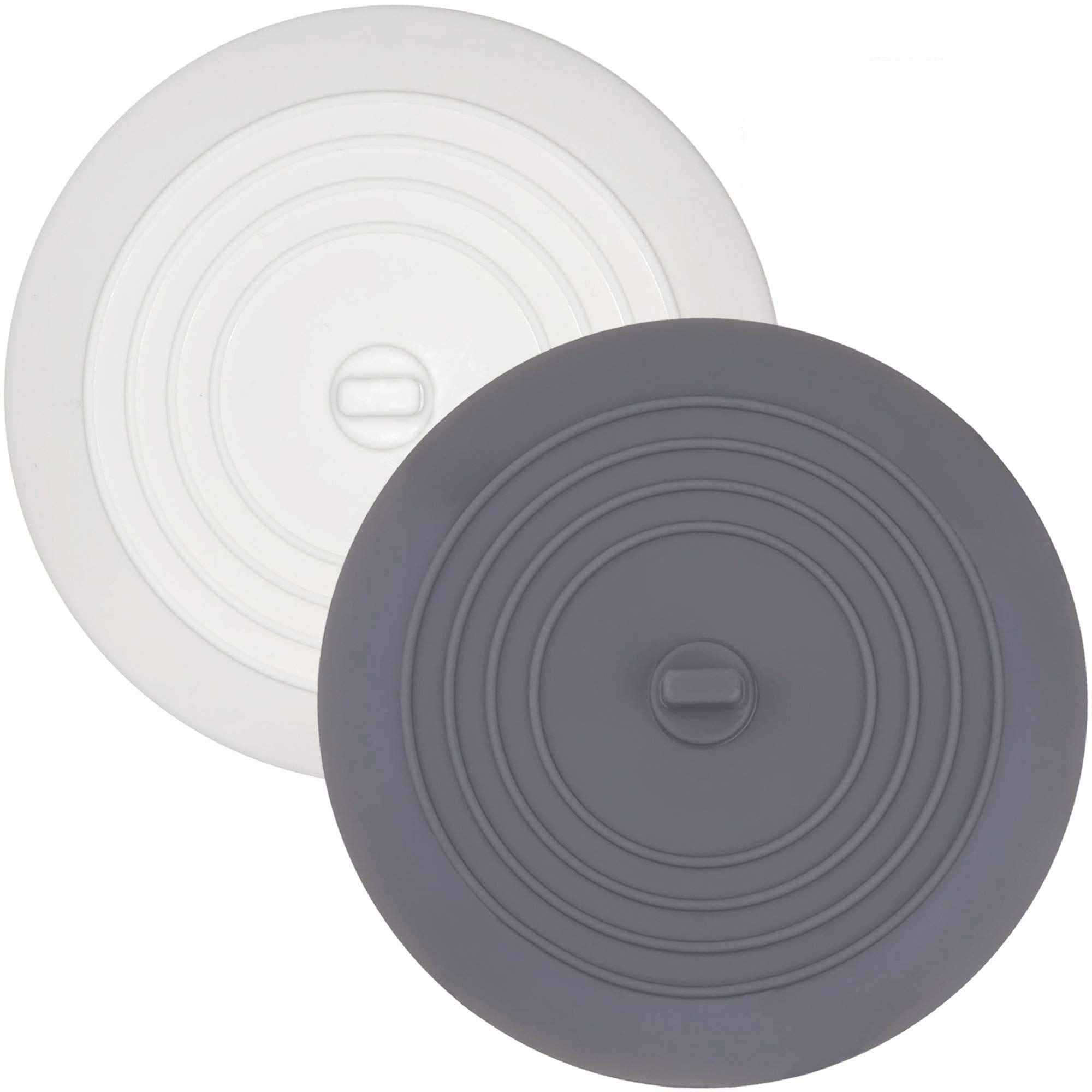 (2 Pack) Silicone Tub Stopper, Premium Bathtub Drain Stopper, One of the