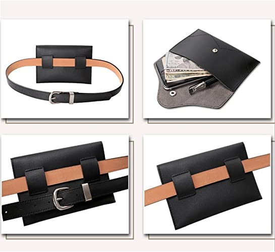 CAIYING Mens Genuine Leather Belts Vintage Casual Thin Belt for Jeans Shorts Pants