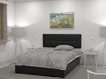 LA WEB DEL COLCHON Cabecero de Cama tapizado Acolchado Julie 145 x 55 cms. para