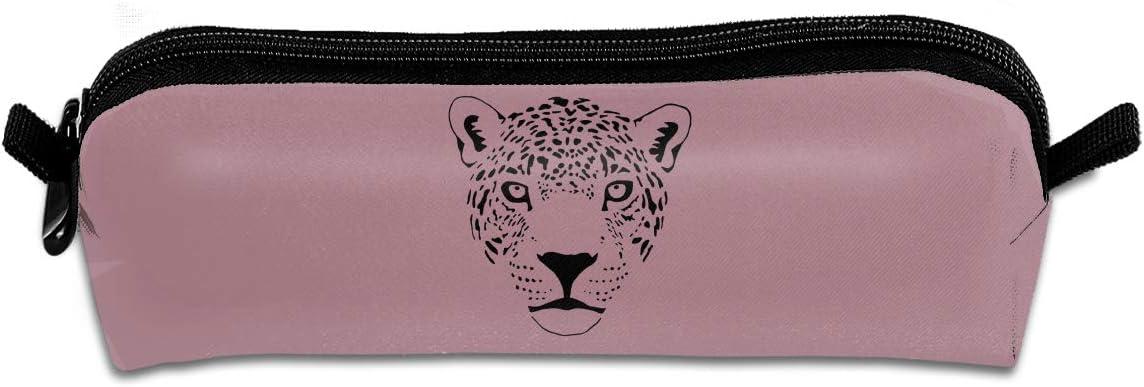 Xiongda Jaguar Cougar Cat Puma Panther - Estuche para lápices y bolígrafos, diseño de Leopardo: Amazon.es: Hogar