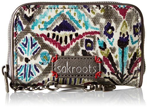 sakroots-artist-circle-zip-id-case-wallet