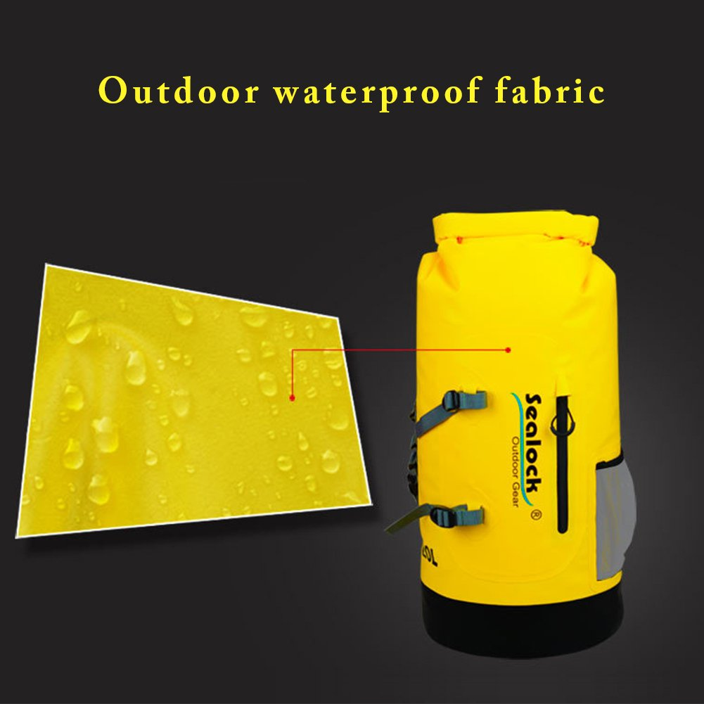 Outdoor Sports Backpack Waterproof Backpack Outdoor Mountaineering Drifting Full Air-Tight Shoulder Bag