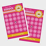 3 sets of 16 Pink Carnival Circus Bingo