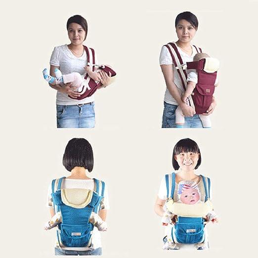 Mochila Ajustable ergon/ómica Transpirable Envoltura para Cabestrillo Kitabetty Portabeb/és Cabestrillo para beb/é para ni/ños de 2 a 30 Meses.