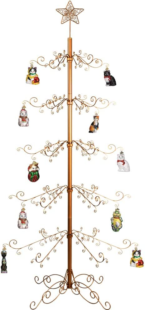 20 x Christmas Tree Hook Bauble Ornament Hanger Hanging Gift Decoration Wire