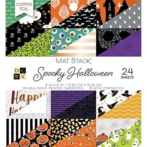 DCWV 614581 Spooky Halloween Stacks Multi ()