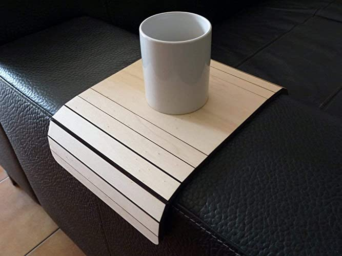 Amazoncom Wooden Couch Arm Tray 28 Colors As Poplar Furniture For