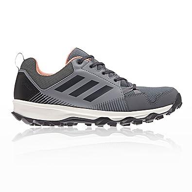 adidas Traillaufschuh Terrex Tracerocker, Chaussures de Trail Femme, Gris (Grethr/Carbon/Chacor 000), 40 EU