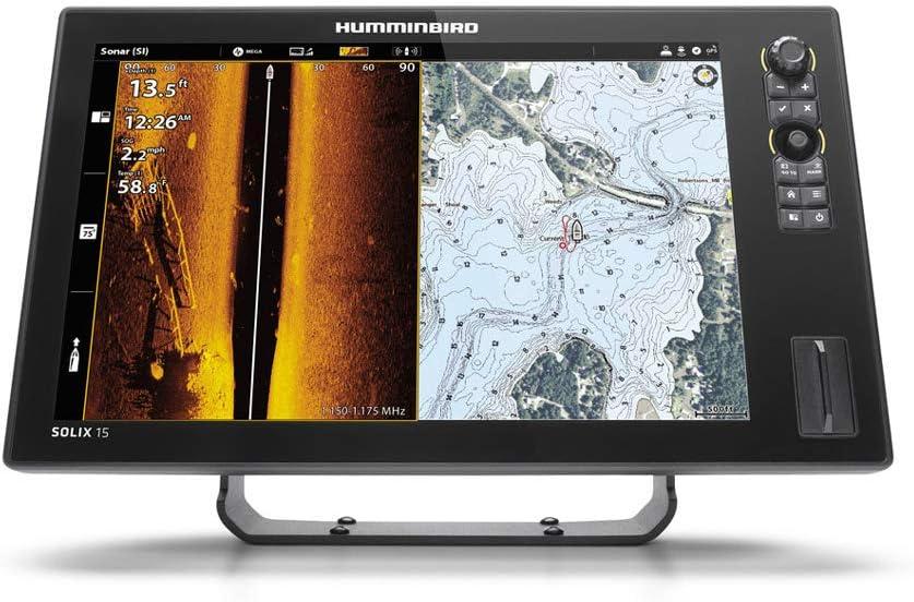 【HUMMINBIRD/ハミンバード】SOLIX 12 CHIRP MEGA SI+ GPS G2N マップ無し GPS魚探 魚群探知機 航海計器