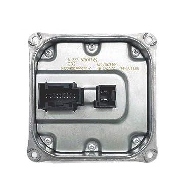 Amazon.com: Loovey A2228700789 - Convertidor de voltaje para ...