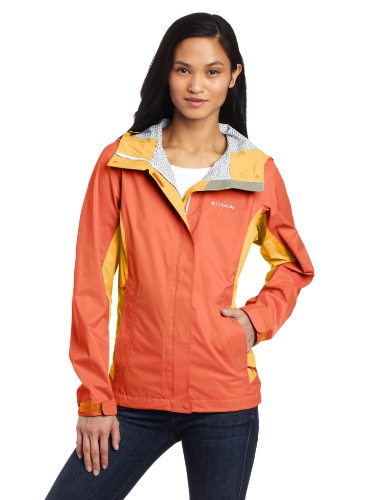 UPC 886535377493, Columbia Women's Trail Turner Shell Jacket, X-Large, Zing