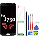 iFixmate LCD Screen Replacement for Samsung Galaxy J7 Pro (Black) with Touch Digitizer Display Assembly for J730 2017…