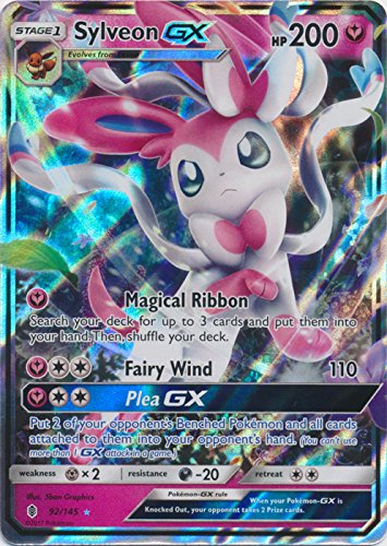 Sylveon-GX - 92/145 - Ultra Rare - Sun & Moon: Guardians Rising
