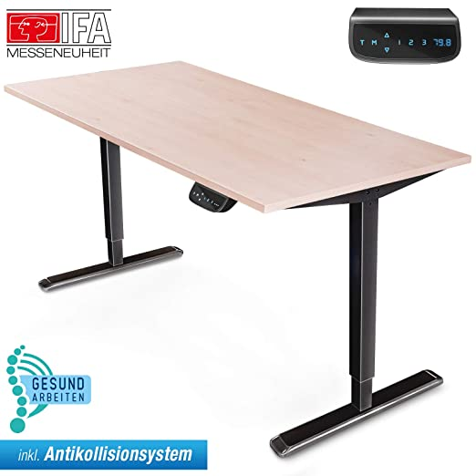 Deskfit DF300 - Mesa de Escritorio Regulable en Altura, con ...