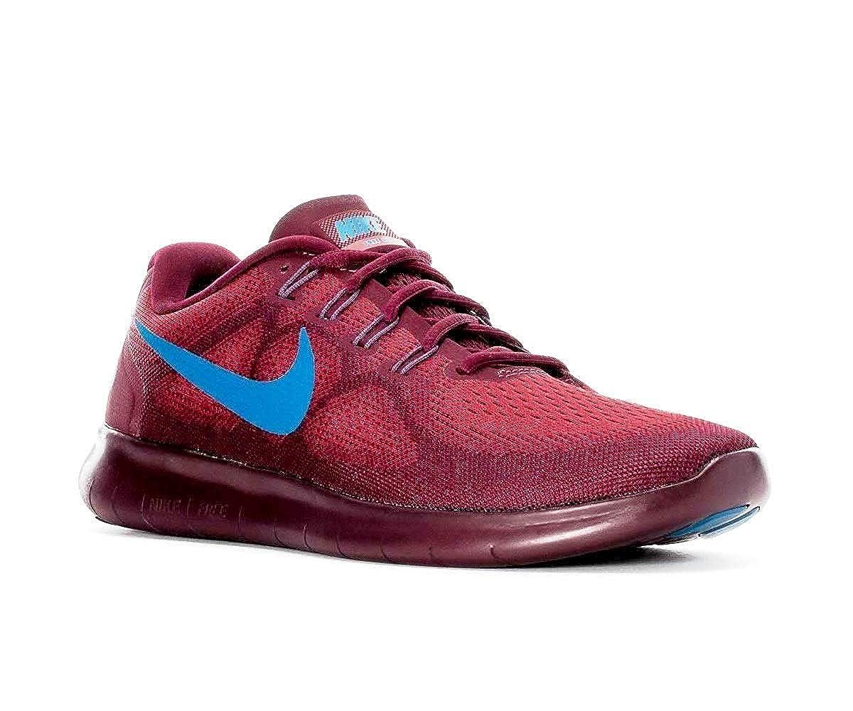 Nike Men's Free RN 2017 Running schuhe, rot (9.5)