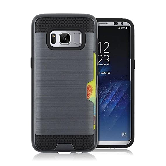 Amazon.com: For Samsung Galaxy S8 Plus,Kshion Card Pocket ...