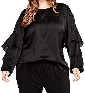 c2a32574e2e13f RACHEL Rachel Roy Women s Plus Size Sequin Top at Amazon Women s ...
