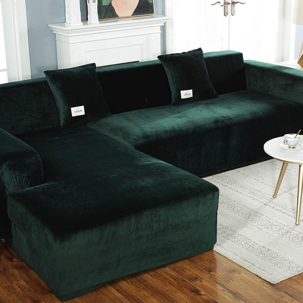 619aO5pGhDL. AC SL1001 - Best Slipcovers For Leather Sofas and Couches (Non-Slip) - ChairPicks