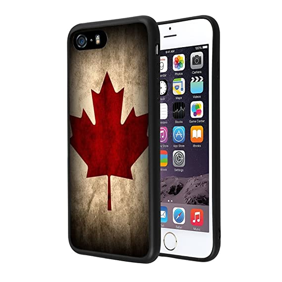 fb10311500c Image Unavailable. Image not available for. Color  iPhone 5s 5 SE Case,ZTtrade  Canada Flag ...