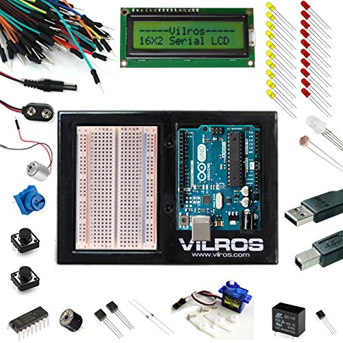 Vilros Arduino Uno 3 Ultimate Starter Kit Includes 12