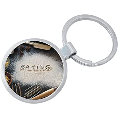 Amazon.com  Baking Keychain  Clothing 70b74345a