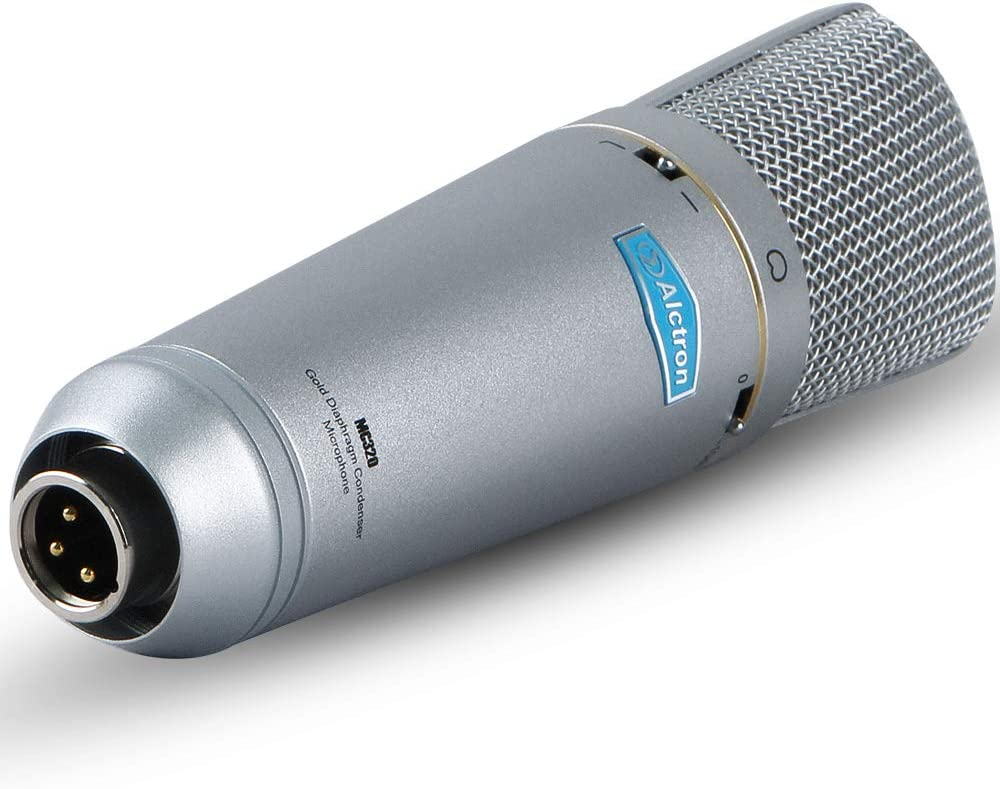 Amazon.com: Micrófono condensador Alctron MC320 utilizado en estudio,  oerformance, bajo ruido, alto rendimiento: Home Audio & Theater