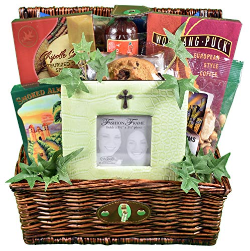 Trust in The Lord, A Christian Themed Gift Basket To Celebrate With Or Express Sympathy
