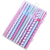 Cute Colorful Journal Pen,10Pcs Multi Colors Colorful Gel Ink Pens 0.38mm MultiColored Roller Ball Fine Point Pens for Bullet Journal Planner Writing Notes Office School Supplies