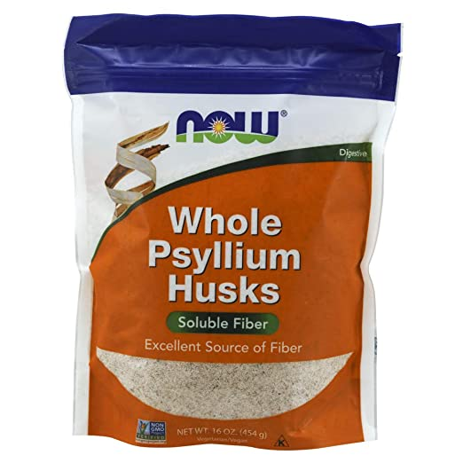 Amazoncom Now Psyllium Husks Whole 16 Ouncepackaging May Vary