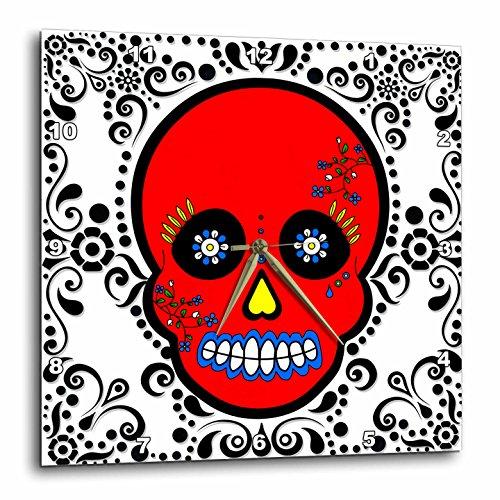 3dRose dpp_28877_2 Day of The Dead Skull Día De Los Muertos