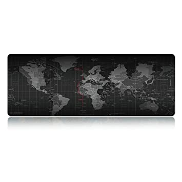 World map extended xxl gaming mouse pad portable large desk mat world map extended xxl gaming mouse pad portable large desk mat non slip gumiabroncs Image collections