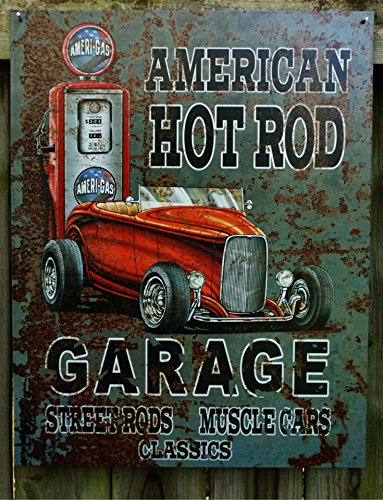 Legends - American Hot Rod Metal Tin Sign , 12x16 ()