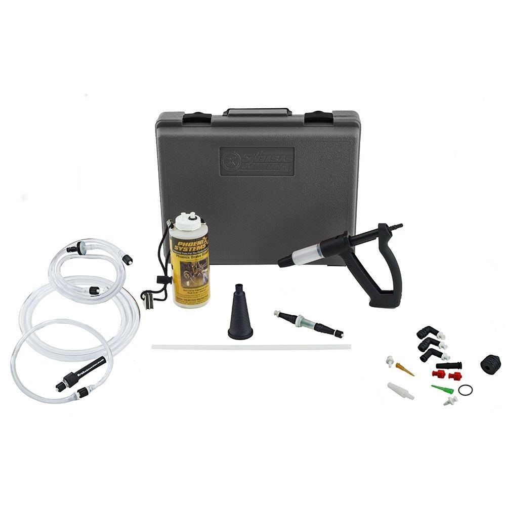 Phoenix Systems (2003-B) V-12 Reverse Brake & Clutch Bleeder Kit, Medium Duty One Person Bleeder, Hard Case