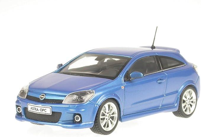 Opel Astra H Opc Blau 1 43 Minichamps Model Car Spielzeug