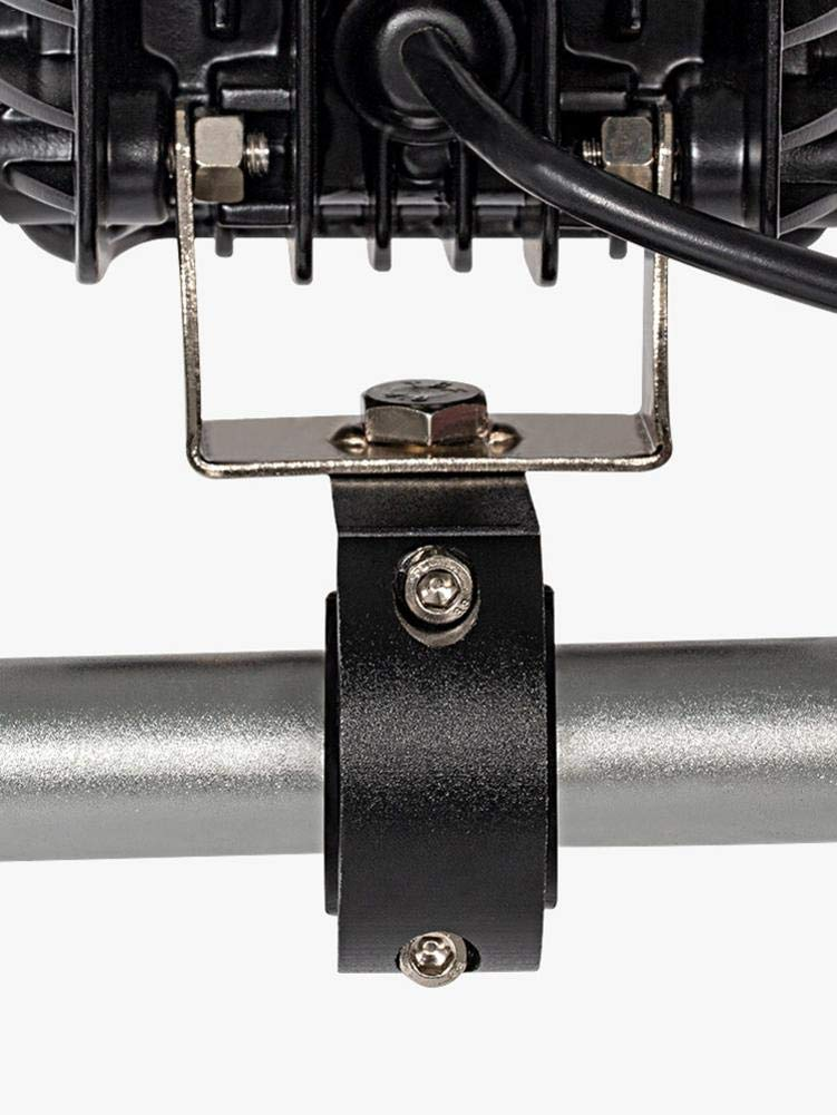 pegtopone Moto Fari Morsetti Faretti staffe di Montaggio per Qualsiasi 22mm Manubrio e Crash Bars masterly