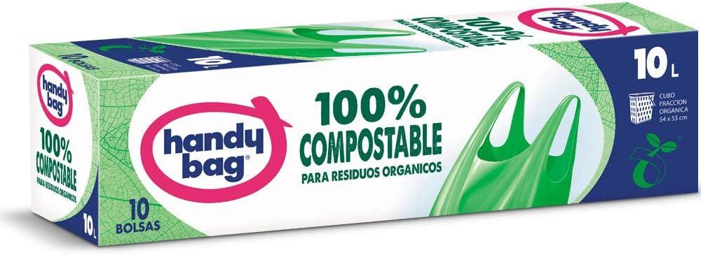 Handy Bag Basura 10L 100% Compostables, Biodegradables ...
