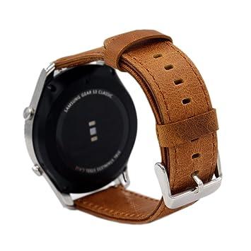 PINHEN 24mm Pulsera de Repuesto 24mm Reloj de Correa de Reemplazo ...