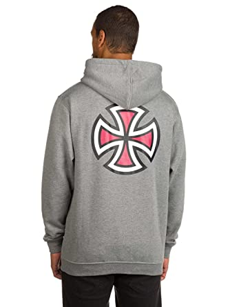 Sudadera Independent: Hood Bar Cross Dark Heather GR: Amazon.es: Ropa y accesorios