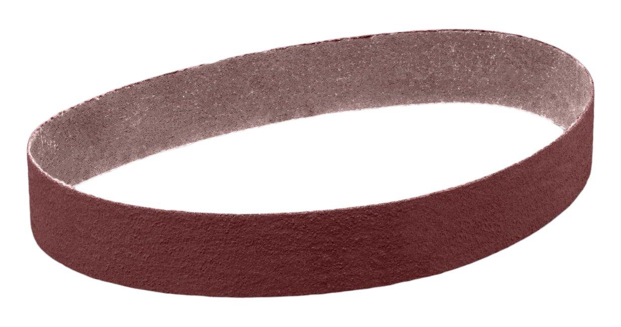 3M 25840 Cloth Belt 341D, 2'' x 132'' 80 X-Weight, Cloth Backing, Aluminum Oxide Abrasive Grit, 2'' Width, 132'' Length, (Pack of 50)