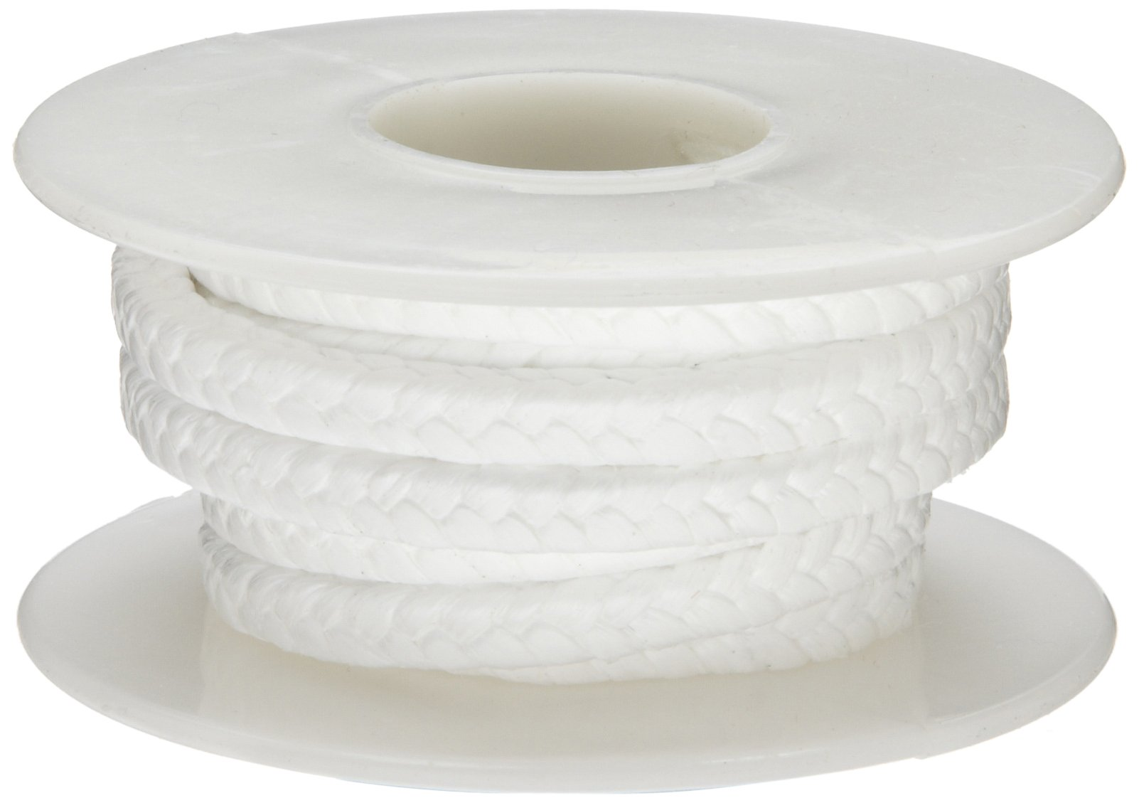 Palmetto 1367H Series PTFE without Lubrication Compression Packing Seal, White, 1/4'' Square, 5' Length by Palmetto Packings