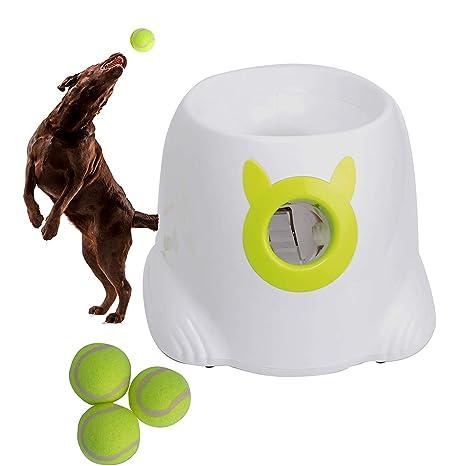 Automático Perro Máquina de Lanzamiento de Bolas Control de Tres ...