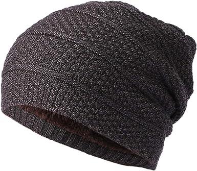 Men Slouch Skull Cap Oversize Beanie Women Baggy Cap Crochet Knit Ski Hat Casual