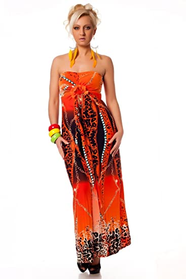 black orange Maxi floral long prom cocktail strap dress for summer spring wedding debs evening gown
